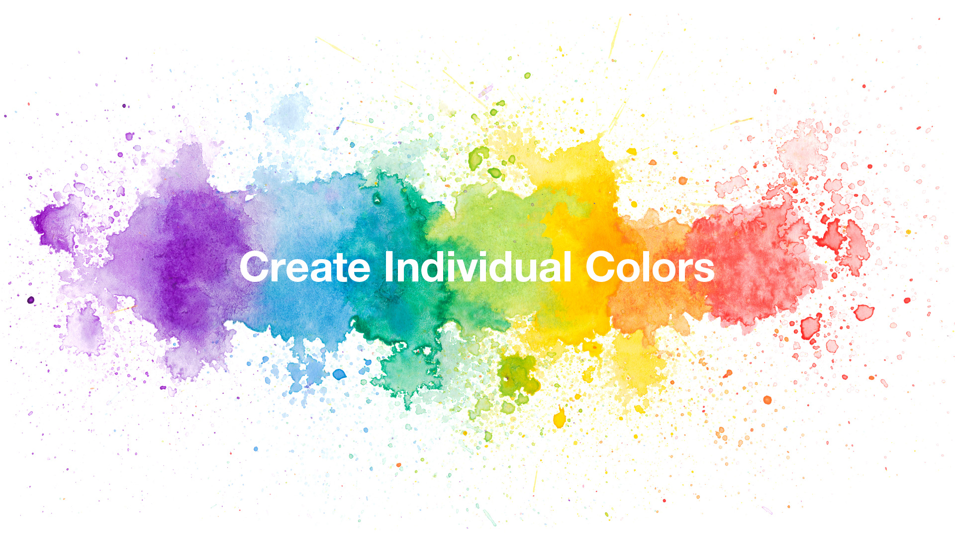 CREATE INDIVIDUAL COLORS