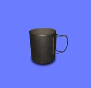 2層式チタンマグカップ
